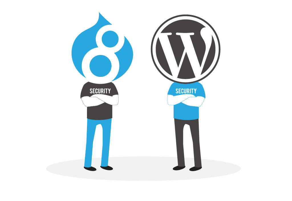 Drupal vs. WordPress Security