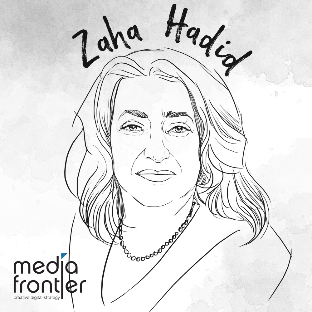 Zaha Hadid illustration