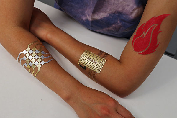 DuoSkin smart tattoos