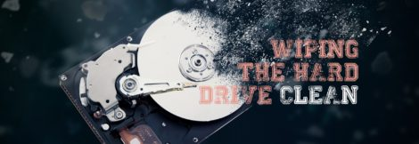 Secure data on an old hard drive